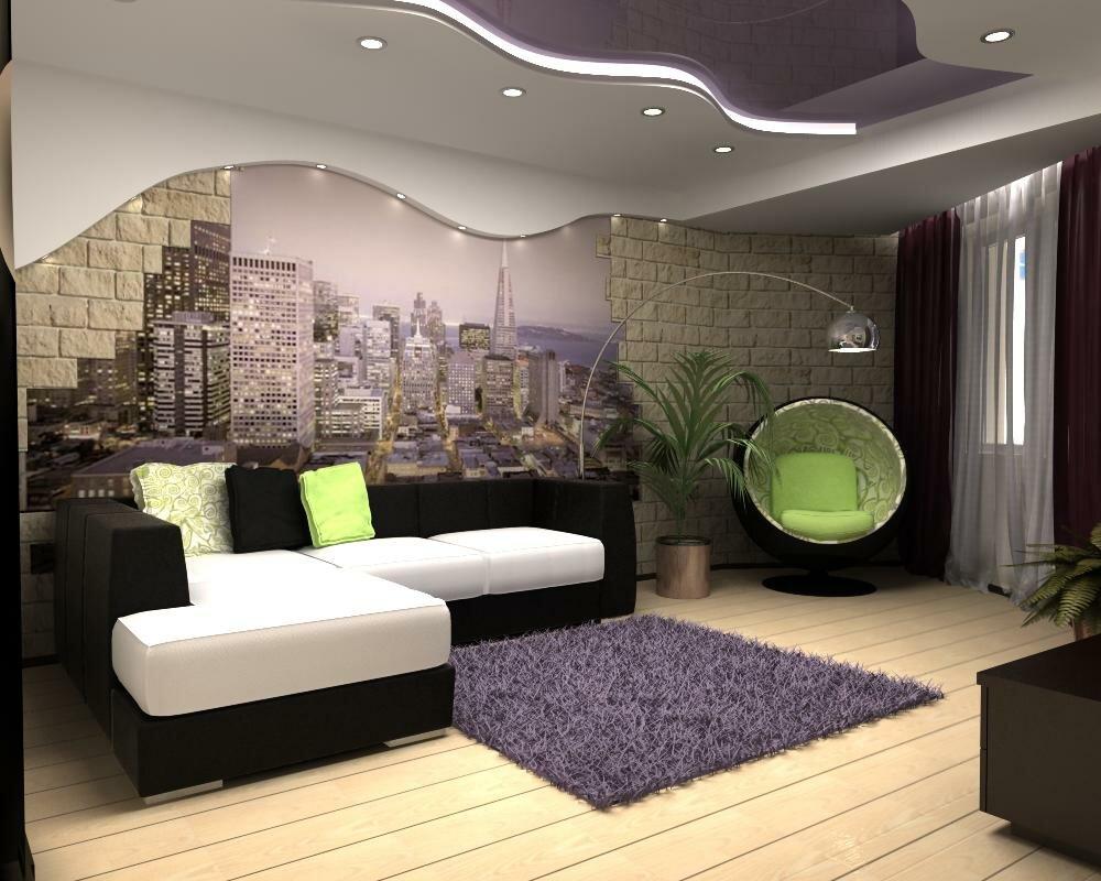 фотообои для дизайна зала фотогалерея особенность планировки особняка